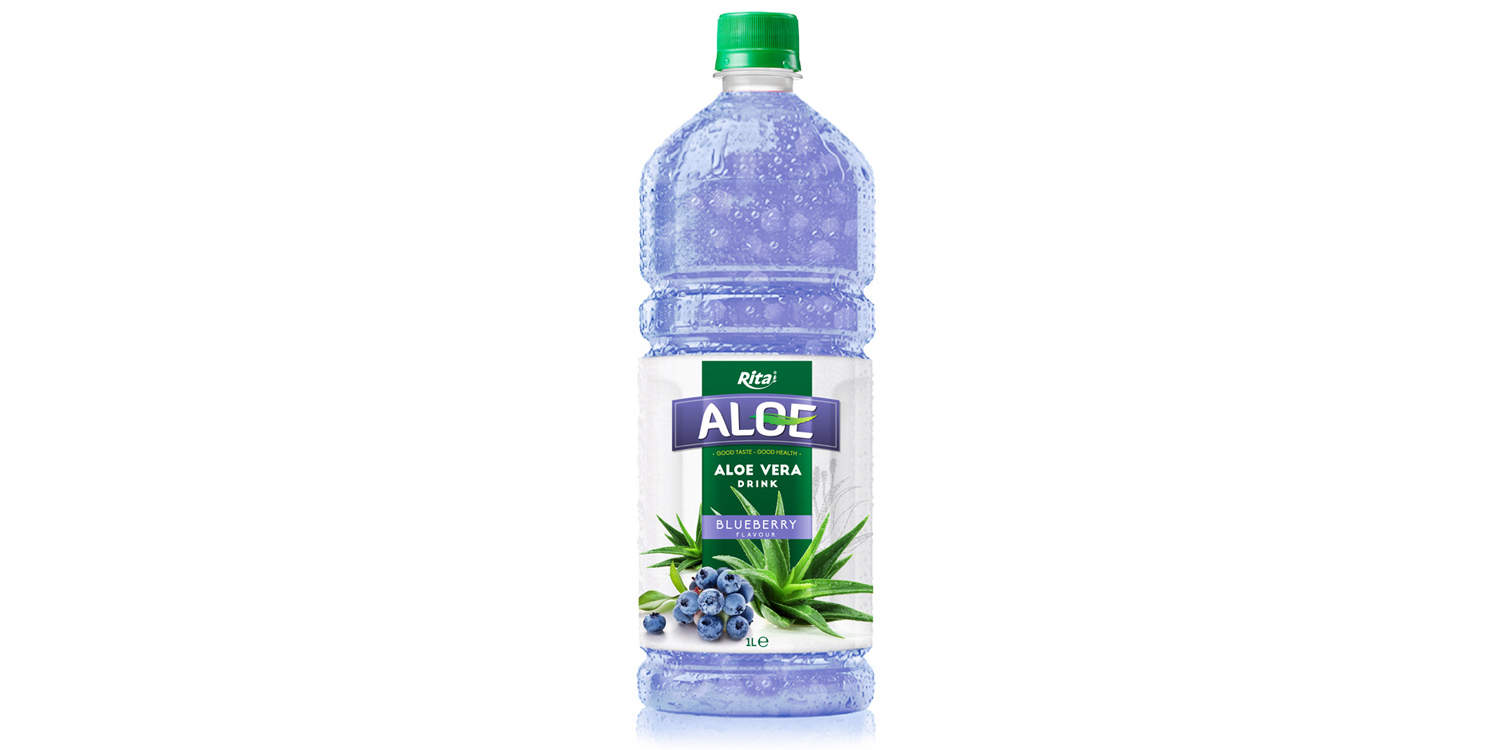 aloe vera with blueberry  1L Pet bottle from RITA India