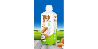 Almond milk with coconut 1000 ml PP bottle from RITA India