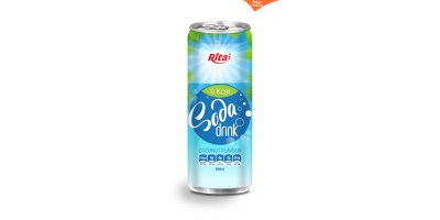 330ml Soda drink coconut  Flavour from RITA INDIAN