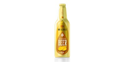 Aluminum Bottle 355ml ginger Beer Non Alc
