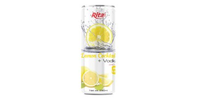 250ml slim Vodka lemon flavor from RITA INDIAN