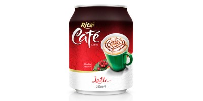 250ml Latte coffee from RITA INDIAN