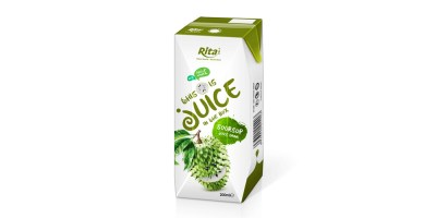 packaging solutions fruit soursop juice in tetra pak from RITA US