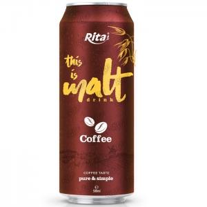 Coffee flavor malt drink 500ml