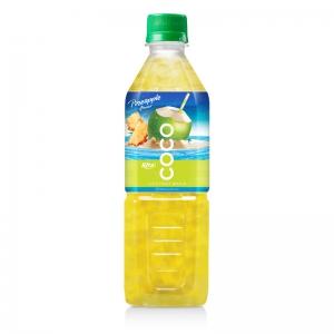 Coconut water with pineapple flavor  500ml Pet bottle