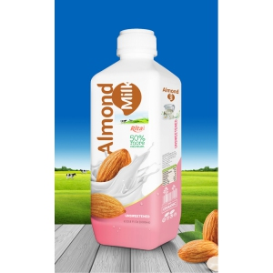 Almond milk drink no sugar 1000ml PP bottle