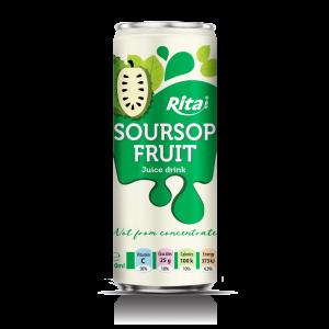 Pure Juice soursop fruit juice